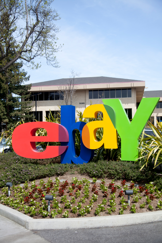 EBay Paints Itself as Colorful Contrast to Amazon