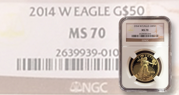 Counterfeit modern U.S. gold issues in fake NGC holders with fake labels