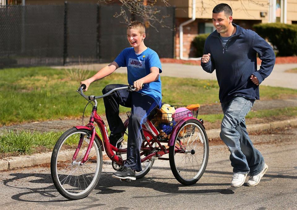 Autistic boy's missing-bike saga has a happy ending