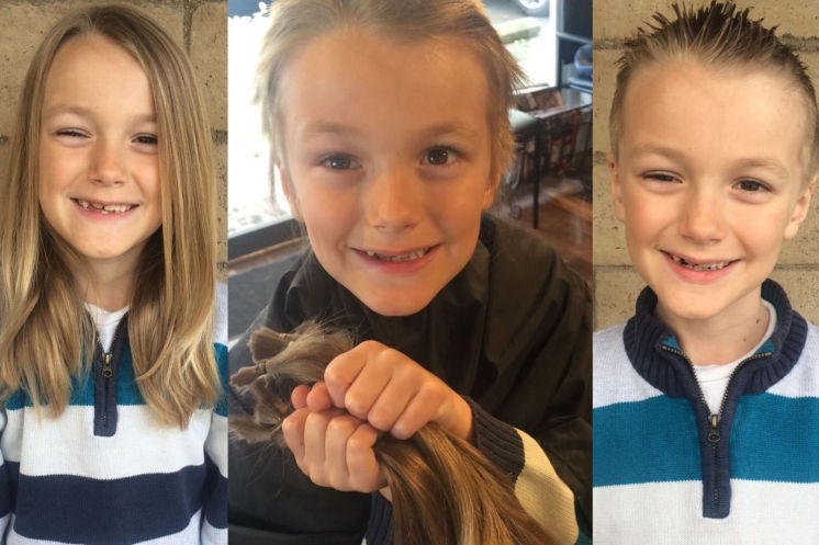 This sweet 7-year-old gave his hair to cancer patients, then life took a devastating turn