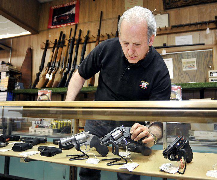 Gun sales boom on Black Friday