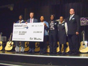 MORE THAN 100 INSTRUMENTS DONATED TO D.C. VIRGO