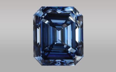 Blue HPHT Synthetic Diamond Over 10 Carats