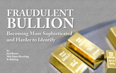 Fraudulent Bullion Becoming More Sophisticated and Harder to Identify