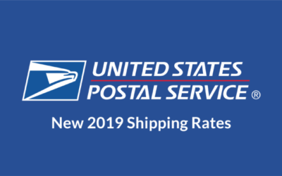 USPS 2019 Shipping Rate Changes: Flat Rate, Priority, First Class, w/Tables