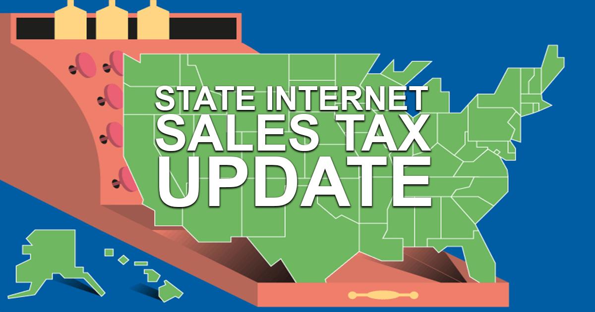 State Internet Sales Tax Update