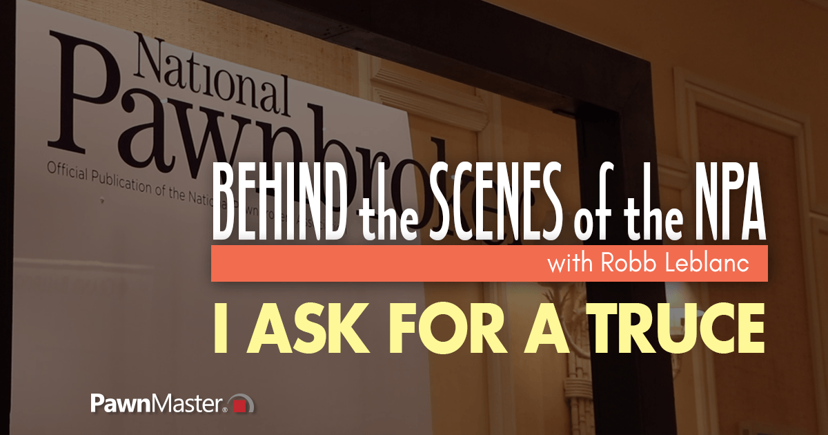 """""""I Ask for A Truce""""- Behind the Scenes of the NPA"""
