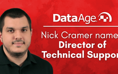 Nick Cramer Named Director of Technical Support for Data Age Business Systems