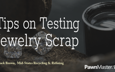 Guest blog: Tips on Testing Jewelry Scrap Part 1