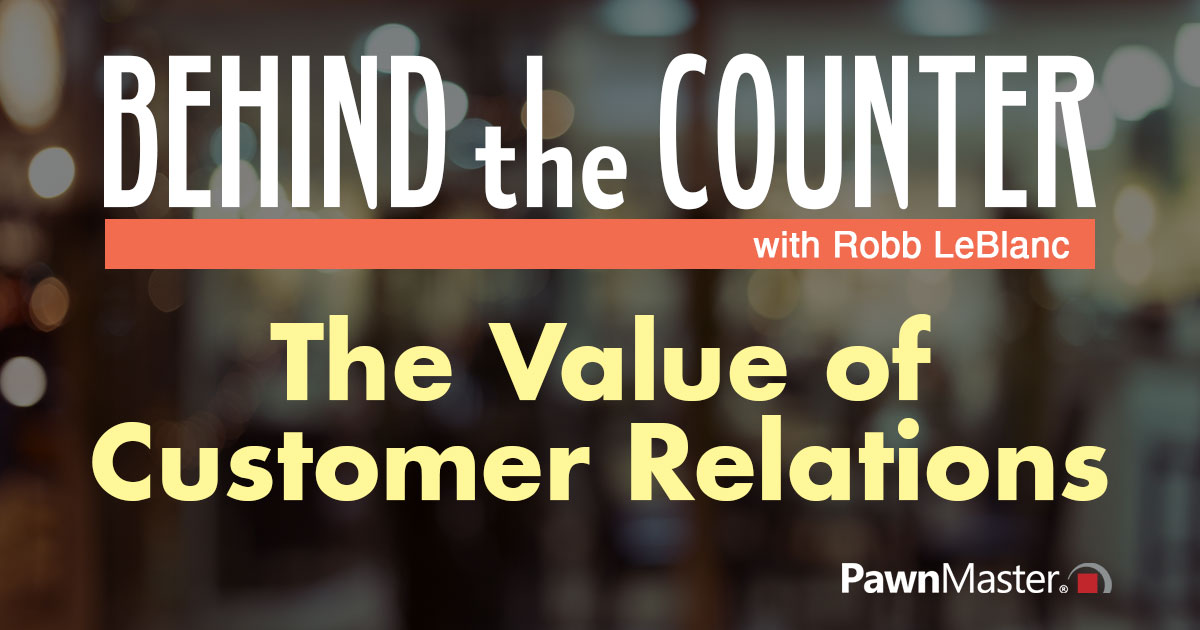 The Value of Customer Relations