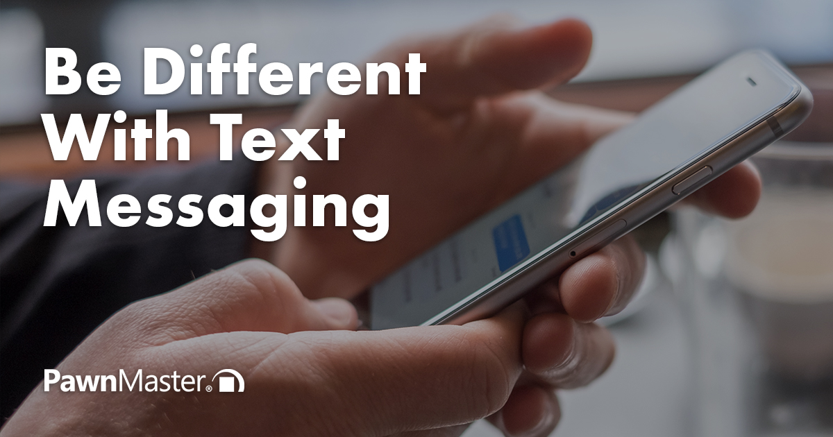 Be Different With Text Messaging