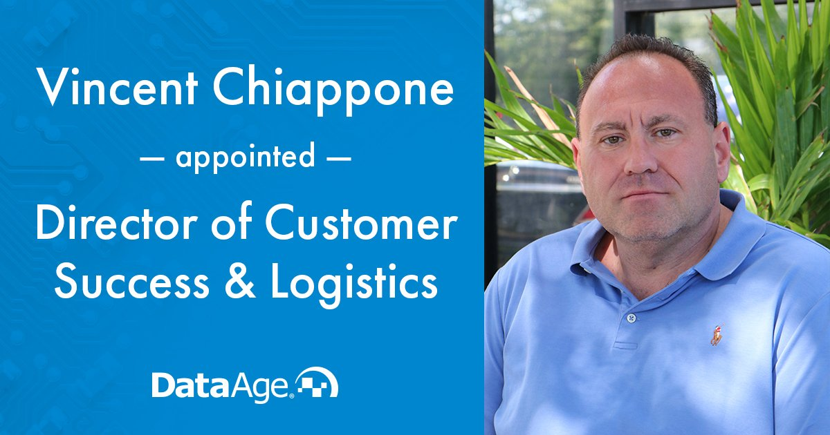 Vincent Chiappone Appointed to Director of Customer Success & Logistics