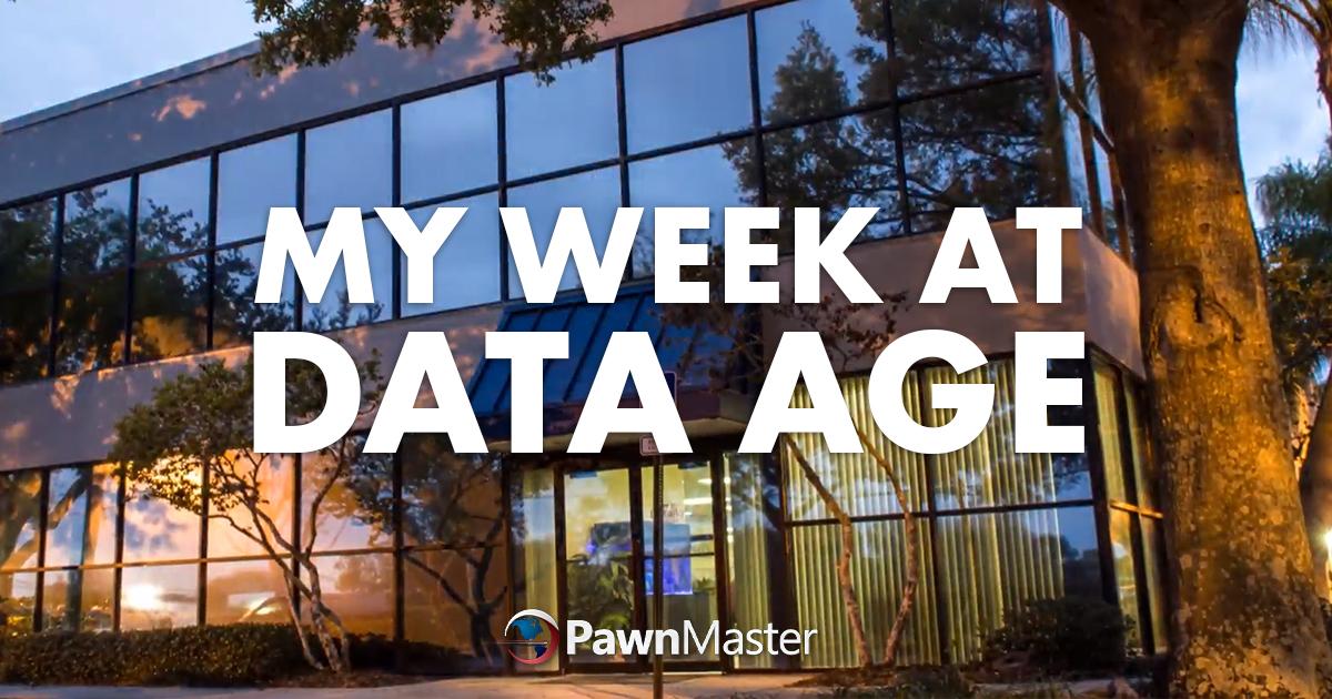 My Week At Data Age