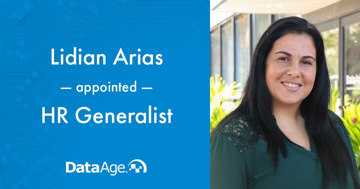 Lidian Arias Appointed to HR Generalist